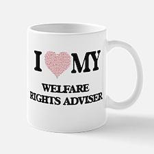I love my Welfare Rights Adviser (Heart Made Mugs