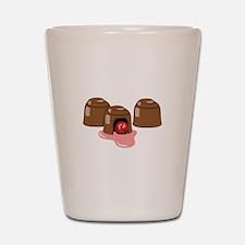 Chocolate Covered Cherries Shot Glass