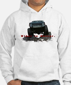 Wider is Better Jumper Hoodie