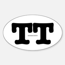 TT - TOUGH TITTY Decal