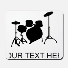 Drum Set (Custom) Mousepad