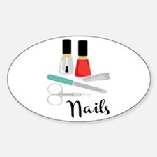 Manicure Nails Decal