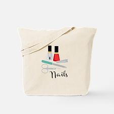 Manicure Nails Tote Bag
