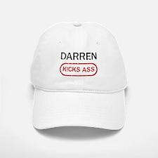 DARREN kicks ass Baseball Baseball Cap