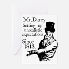 Unique Pride prejudice Greeting Cards (Pk of 20)