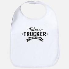 Future Trucker Like My Daddy Bib