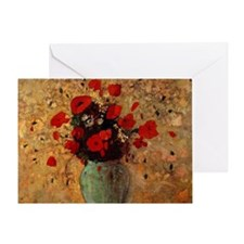 Poppies france Greeting Card