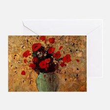 Cute Poppies france Greeting Card