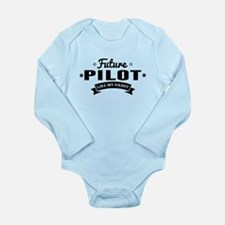 Future Pilot Like My Daddy Body Suit