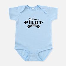Future Pilot Like My Daddy Body Suit