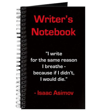 """Isaac Asimov"" - Writer's Notebook"