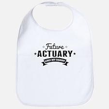 Future Actuary Like My Daddy Bib