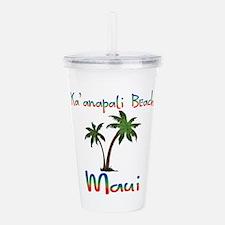 Ka'anapali Beach Maui Acrylic Double-wall Tumbler
