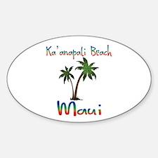 Ka'anapali Beach Maui Decal