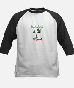 Makena Beach Maui Baseball Jersey
