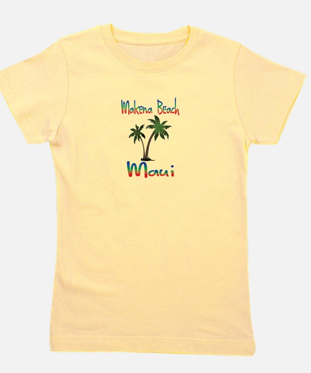Makena Beach Maui Girl's Tee