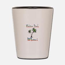 Makena Beach Maui Shot Glass