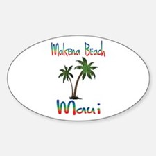 Makena Beach Maui Decal
