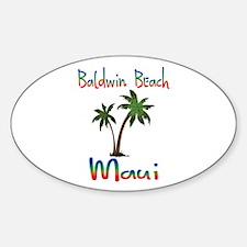 Baldwin Beach Maui Decal