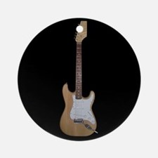 ElectricGuitar12.jpg Round Ornament
