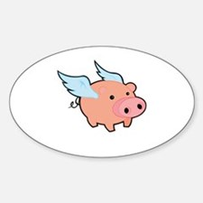 Pigs fly Decal