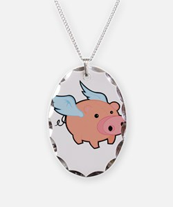 Pigs fly Necklace