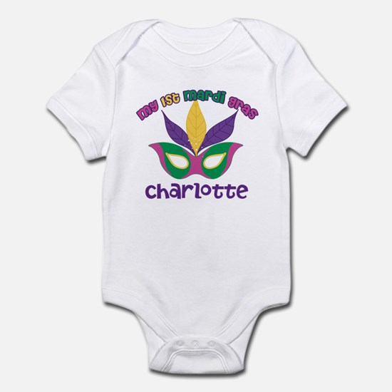 1st Mardi Gras Infant Bodysuit