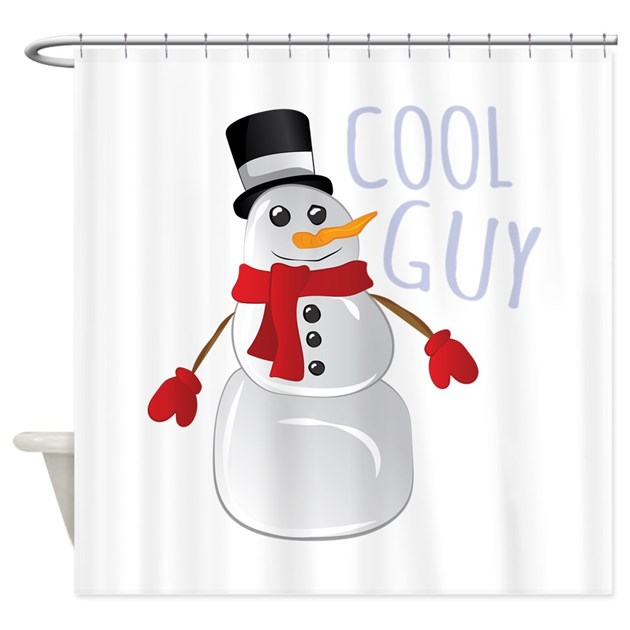 cool guy shower curtain by windmill54