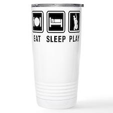 Unique Eat sleep play hockey Travel Mug