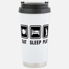 Cute Eat sleep play disc golf Travel Mug