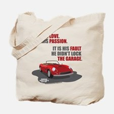 Lock The Garage Tote Bag