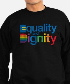 Funny Equal rights Sweatshirt (dark)