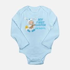 Baby Boy Easter Long Sleeve Infant Bodysuit