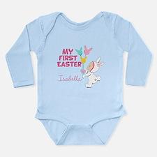 Girl's 1st Easter Long Sleeve Infant Bodysuit