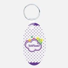 Personalized Gifts For Kids Aluminum Oval Keychain
