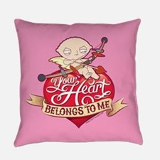 Family Guy Your Heart Belongs to M Everyday Pillow