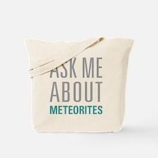 Meteorites Tote Bag