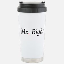 Mx. Right Travel Mug