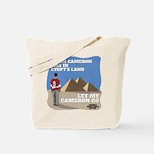 Let My Cameron Go Tote Bag