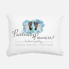 Paxton's Promise Logo Rectangular Canvas Pillo