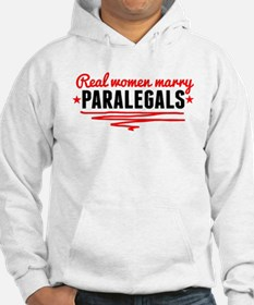 Real Women Marry Paralegals Hoodie