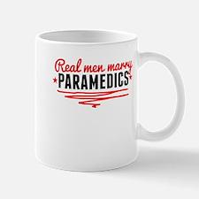 Real Men Marry Paramedics Mugs