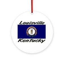 Louisville Kentucky Ornament (Round)