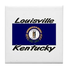 Louisville Kentucky Tile Coaster