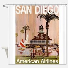 San Diego, California, Vintage Travel Poster Showe