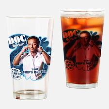 The Love Boat: Doc Bricker Drinking Glass