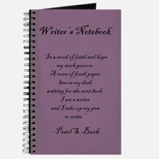 """Pearl S. Buck"" - Writer's Notebook"