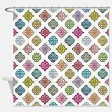 MOROCCAN TILE Shower Curtain