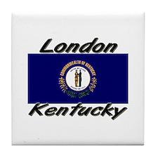 London Kentucky Tile Coaster
