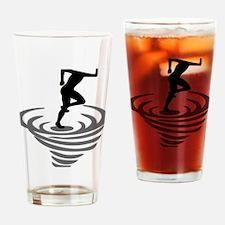 Cute Crosscountry Drinking Glass